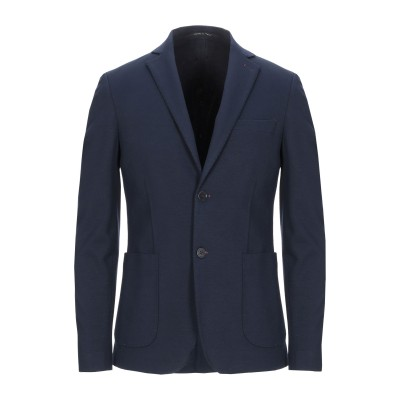 EXIBIT テーラードジャケット ダークブルー 48 レーヨン 70% / ポリアクリル 25% / ポリウレタン 5% テーラードジャケット