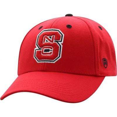 トップオブザワールド Top of the World メンズ キャップ 帽子 NC State Wolfpack Red Triple Threat Adjustable Hat