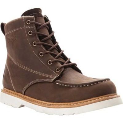 プロペット メンズ スニーカー シューズ Watson Moc Toe Boot Brown Crazy Horse Leather