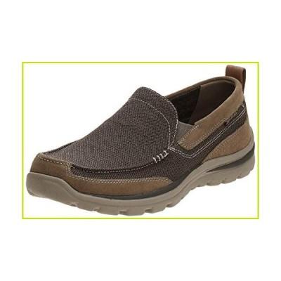 Skechers Men's Superior Milford Slip-On Loafer, Light Brown, 10 M US【並行輸入品】