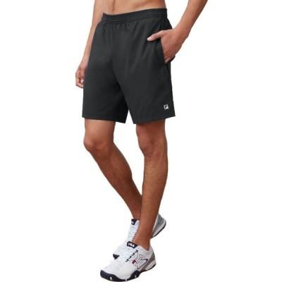 フィラ Fila メンズ テニス ショートパンツ ボトムス・パンツ 7 Hard Court 2 Tennis Shorts Black