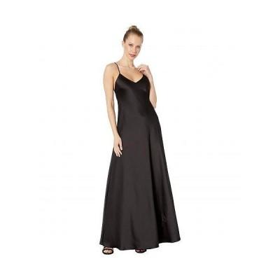 BCBGMAXAZRIA ビーシービージーマックスアズリア レディース 女性用 ファッション ドレス V-Neck Gown Dress - Black