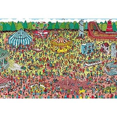 150ピース ジグソーパズル Where's Wally. 休日のゆうえんち ラージピース L74-123(26x38cm)