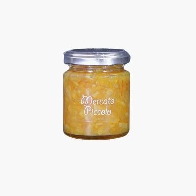 〈メルカートピッコロ〉ブラッドオレンジマーマレード-125g[I]glm【YHO】_Y180828100009002