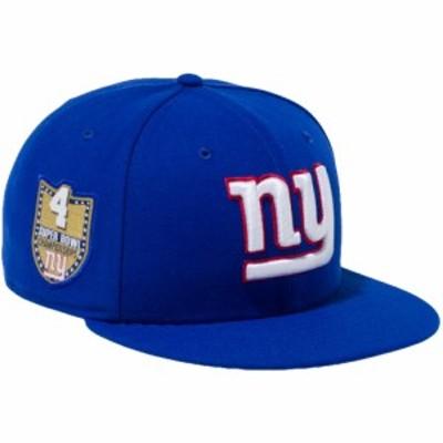 【新品】ニューエラ 950 スナップバック キャップ NFLカスタム ニューヨークジャイアンツ カーミングブルー New Era NewEra