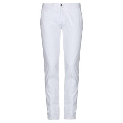 BRIGLIA 1949 パンツ ホワイト 34 コットン 97% / ポリウレタン 3% パンツ