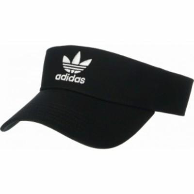 アディダス adidas Originals レディース サンバイザー 帽子 Originals Twill Visor Black/White
