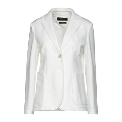 チルコロ 1901 CIRCOLO 1901 テーラードジャケット ホワイト 42 コットン 93% / ポリウレタン 7% テーラードジャケット