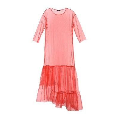 ツインセット シモーナ バルビエリ TWINSET ロングワンピース&ドレス レッド 38 ナイロン 100% ロングワンピース&ドレス