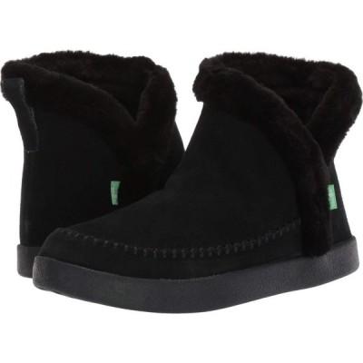 サヌーク Sanuk レディース ブーツ シューズ・靴 Nice Bootah Suede Black
