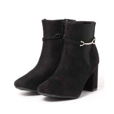 Mafmof / Realta(レアルタ) ビット金具付きサイドゴアショートブーツ WOMEN シューズ > ブーツ