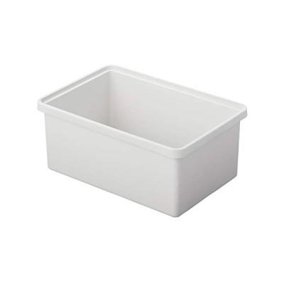 無印良品 ポリプロピレン収納ボックス・中・ホワイトグレー 幅37×奥行25×高さ16cm 82620795