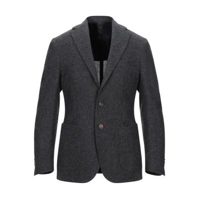 DOPPIAA テーラードジャケット スチールグレー 46 コットン 100% テーラードジャケット