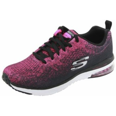 SKECHERS スケッチャーズ スポーツ用品 シューズ Skechers Skech-Air Infinity Modern Chic Black/Pink Memory Sneakers Shoes Sz: 7.5