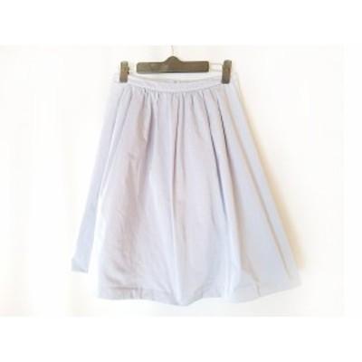 【還元祭対象】ノーブル NOBLE スカート サイズ36 S レディース ライトブルー【中古】