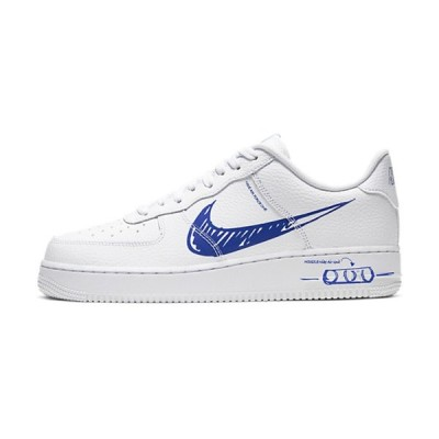 AIR FORCE 1 LOW 'SKETCH' ナイキ エアフォースワン スケッチ 【MEN'S】 white/game royal-white CW7581-100