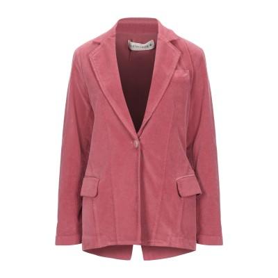 SHIRTAPORTER テーラードジャケット パステルピンク 44 コットン 95% / ポリウレタン 5% テーラードジャケット