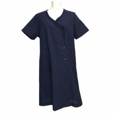Vintage Retro MZITSUKOSHI 昭和レトロ ヴィンテージ 三越百貨店 カシュクールワンピース 121542 【中古】