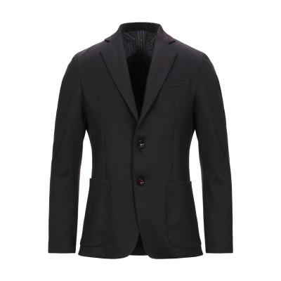 アレッサンドロデラクア ALESSANDRO DELL'ACQUA テーラードジャケット ディープパープル 50 ポリエステル 87% / レーヨン