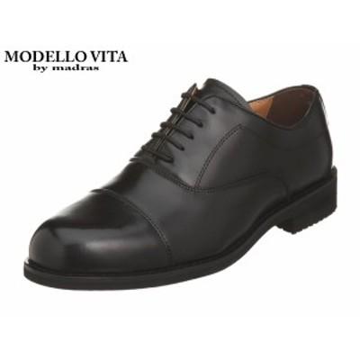 マドラス モデロ ヴィータ VT5574 BLK ブラック 4E モデーロ MODELLO VITA by madras ストレートチップ