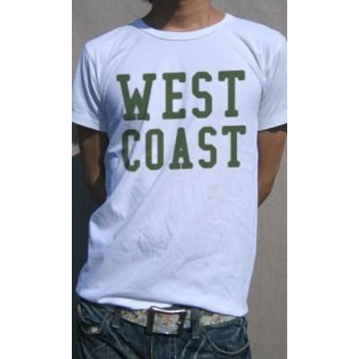 Tシャツ メンズ 半袖 アメリカンカジュアル発祥の地、アメリカ西海岸Tee 送料無料(d9-t)