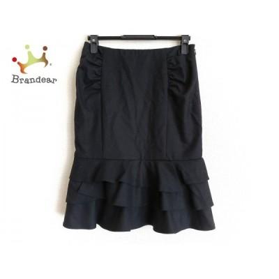 ピンキー&ダイアン Pinky&Dianne スカート サイズ36 S レディース 黒      値下げ 20200708