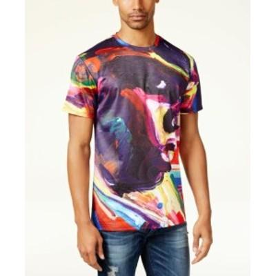 ファッション トップス HYPNOTIZE NEW Purple Mens Size 2XL Biggie Graphic Crewneck Tee T-Shirt