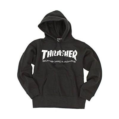 (スラッシャー) THRASHER マグロゴ プルオーバー パーカー TH8501 (BK:ブラック L)