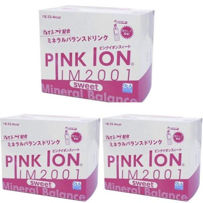 【3個セット】ピンクイオン PINKION IM2001 sweet スティックタイプ30包入 1108