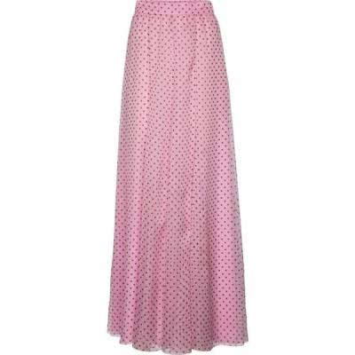 フィロソフィ ディ ロレンツォ セラフィニ Philosophy Di Lorenzo Serafini レディース ロング・マキシ丈スカート polka-dot chiffon maxi skirt Prnt Pink