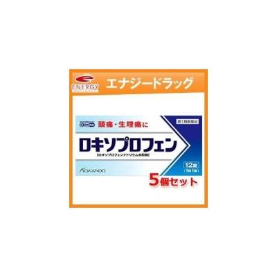 5個セット ロキソプロフェン錠 12錠×5個セット■薬剤師の確認後の発送です。※セルフメディケーション税制対象商品 第1類医薬品