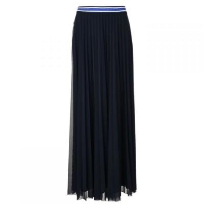 ローレル Laurel レディース ロング・マキシ丈スカート スカート Maxi Skirt Navy
