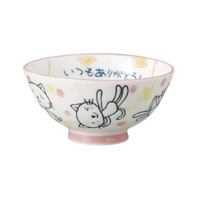 和食器 飯碗 / 言葉ネコ孫平 寸法: 10.5 x 5.2cm