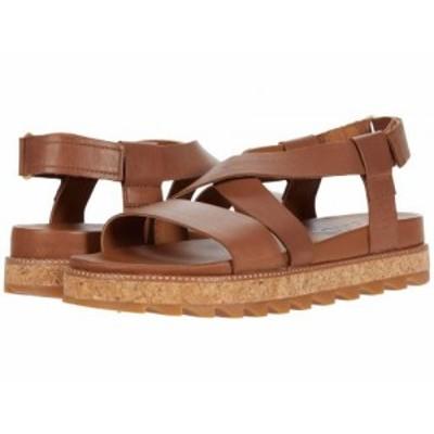 SOREL ソレル レディース 女性用 シューズ 靴 サンダル Roaming(TM) Crisscross Sandal Velvet Tan【送料無料】