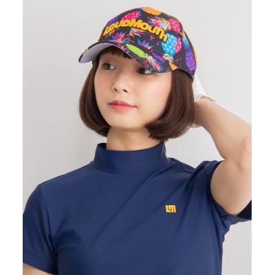 Karlas / 【LOUDMOUTH/ラウドマウス】ブランド ロゴ刺繍 総柄 キャップ MEN 帽子 > キャップ