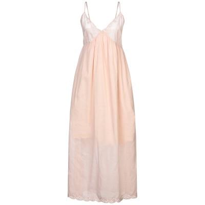 セミクチュール SEMICOUTURE 7分丈ワンピース・ドレス ローズピンク 40 コットン 100% 7分丈ワンピース・ドレス