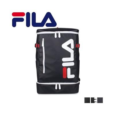 【スニークオンラインショップ】 フィラ FILA リュック バッグ バックパック メンズ レディース 29L BAG PACK ブラック ネイビー 黒 7581 ユニセックス ネイビー ワンサイズ SNEAK ONLINE SHOP