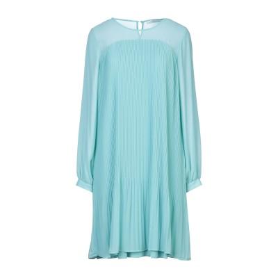 LUCKYLU  Milano ミニワンピース&ドレス ライトグリーン 44 ポリエステル 100% ミニワンピース&ドレス