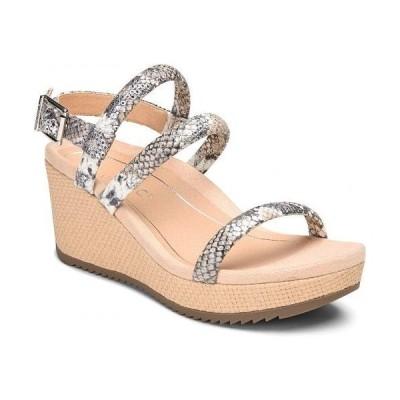 VIONIC バイオニック レディース 女性用 シューズ 靴 ヒール Kora - Silver Boa