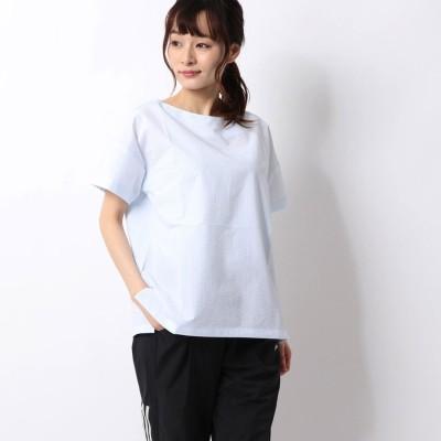 アディダス adidas レディース 半袖Tシャツ W STYLE シアサッカーTシャツ FS6832