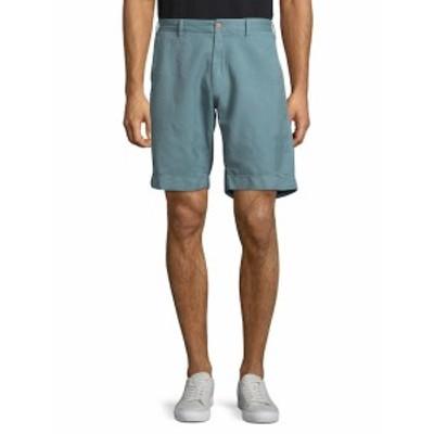 ファリティーブランド メンズ ショートパンツ ショーツ Plain Buttoned Shorts