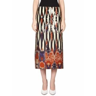 ドライズヴァンノーテン レディース スカート Cotton Ikat Skirt