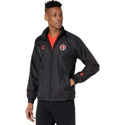 チャーリー CHARLY メンズ フリース トップス Xolos Fleece Jacket Black/Red