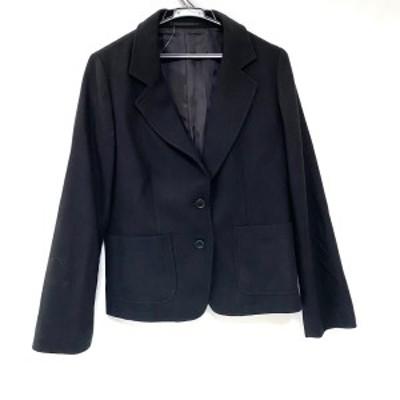 マーガレットハウエル MargaretHowell ジャケット サイズ2 M レディース - 黒 長袖/秋/冬【中古】20210622