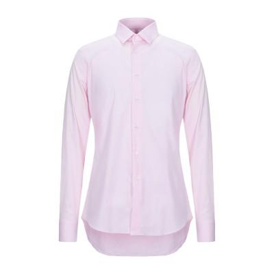 バグッタ BAGUTTA シャツ ピンク 43 コットン 72% / ナイロン 25% / ポリウレタン 3% シャツ