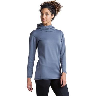 エクスオフィシオ パーカー・スウェットシャツ レディース アウター ExOfficio Women's Robson Reversible Hoody Carbon