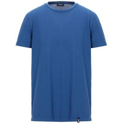 ドルモア DRUMOHR T シャツ ブルー XXS コットン 100% T シャツ