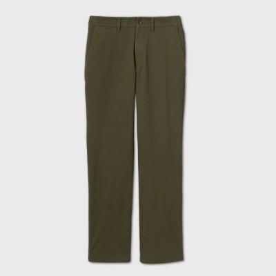 グッドフェロー Goodfellow & Co メンズ チノパン ボトムス・パンツ Straight Fit Hennepin Chino Pants - Green
