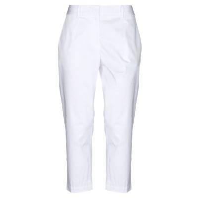 ジル サンダー JIL SANDER パンツ ホワイト 36 コットン 97% / ポリウレタン 3% パンツ