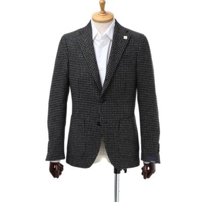 ラルディーニ LARDINI ジャケット シングル サイドベンツ ノッチドラペル 3つボタン ST IM0557AV 3 メンズ 0557AV IEA49561 チドリ